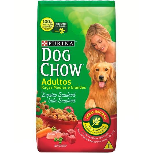 Ração para cães  Dog Chow adulto raças de porte médio e grande 10,1 kg - Imagem em destaque
