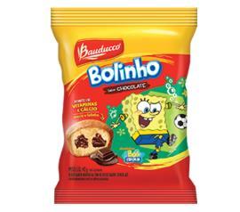 Bolinho Bauducco baunilha recheado chocolate 40g