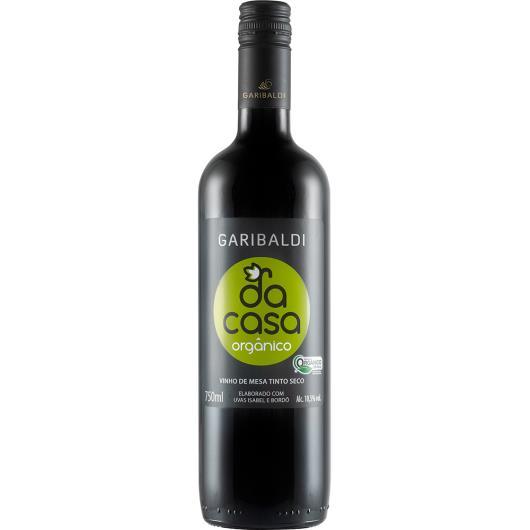 Vinho tinto seco orgânico Da Casa 750ml - Imagem em destaque