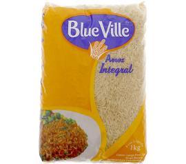 Arroz Integral Parboilizado Blue Ville 1kg