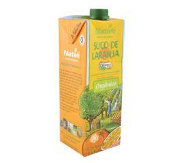 Suco Native orgânico sabor de laranja 1L