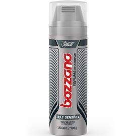Espuma de barbear Bozzano pele sensível 193g
