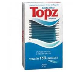 Bastonete Topz  pote 150 unidades
