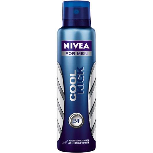 Desodorante Nivea aerossol cool kick 150ml - Imagem em destaque