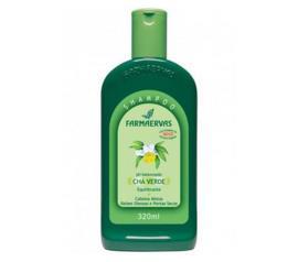 Shampoo Farmaervas de chá verde 320ml