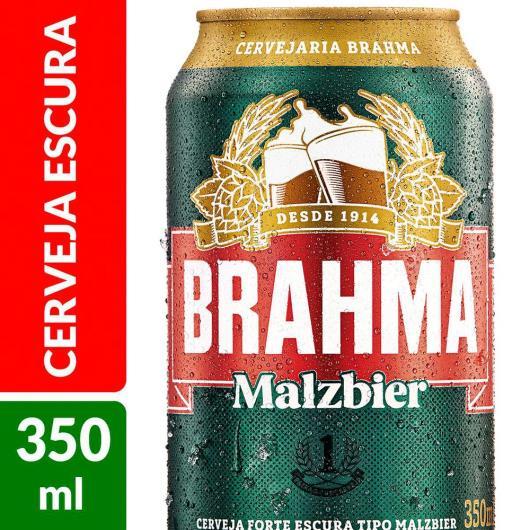 Cerveja Brahma Malzbier lata 350ml - Imagem em destaque