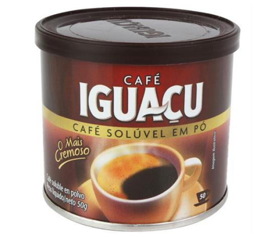 Café Iguaçu Solúvel em Pó Lata 50g - Imagem em destaque