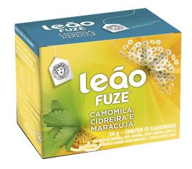 Chá Leão Fuze Camomila /Cidreira /Maracujá 24g