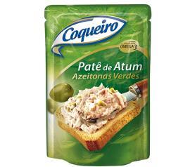 Patê Coqueiro de atum com azeitona 170g