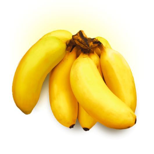 Banana maçã 1,1kg - Imagem em destaque