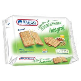 Biscoito Panco cracker integral 400g