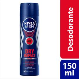 Desodorante Nivea for men dry aerossol 150ml