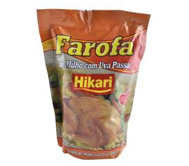 Farofa de milho Hikari com uva passa 250g