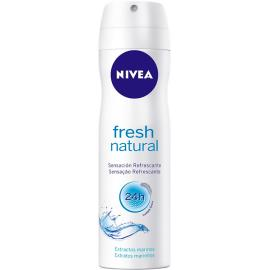 Desodorante Nivea aerossol fresh natural 150ml