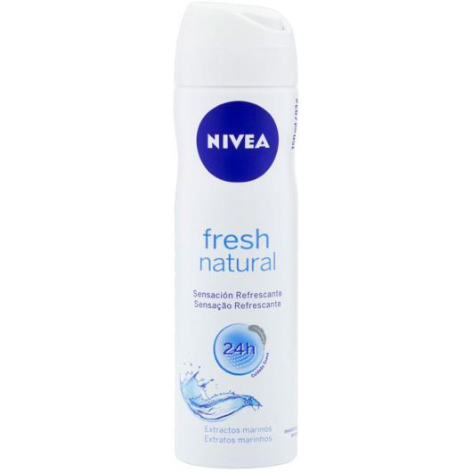 Desodorante Aerossol Nivea Fresh Natural 150ml - Imagem em destaque