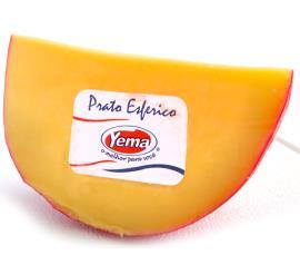 Queijo Yema prato esférico pedaço 300g