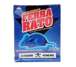 Raticida Ferra Rato 100g
