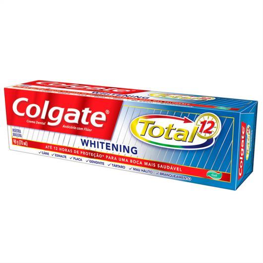 Creme Dental Colgate Total 12 Whitening Gel 90g - Imagem em destaque