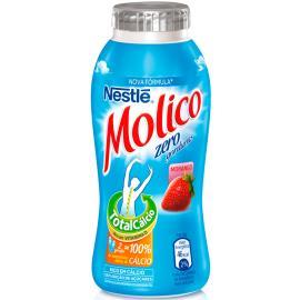 Iogurte Molico Light Morango Nestlé Garrafa 170g