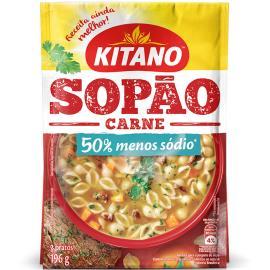 Sopão Kitano sabor carne 196g