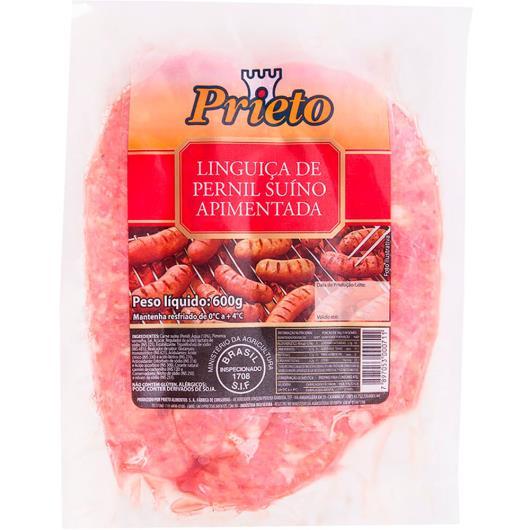 Linguiça Prieto de pernil apimentada 600g - Imagem em destaque