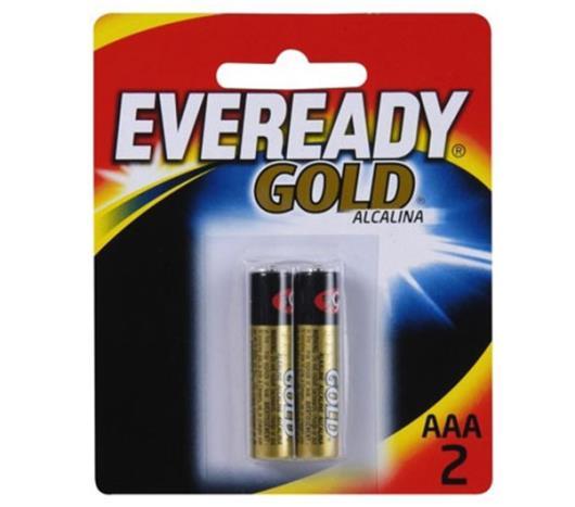 Pilha Eveready Gold Alcalina Palito AAA2 - Imagem em destaque