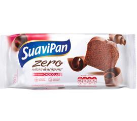 Bolo light sem adiçao de açúcar sabor chocolate Suavipan 250g