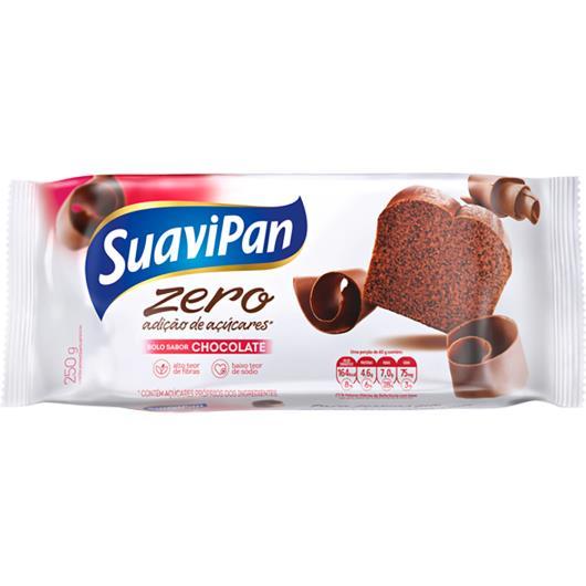 Bolo de chocolate zero açúcar Suavipan 250g - Imagem em destaque