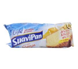 Bolo light sem adição de açúcar sabor laranja Suavipan 250g