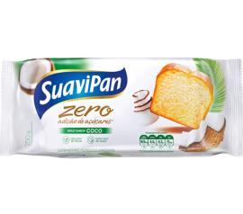Bolo light sem adiçao de açúcar sabor coco Suavipan 250g