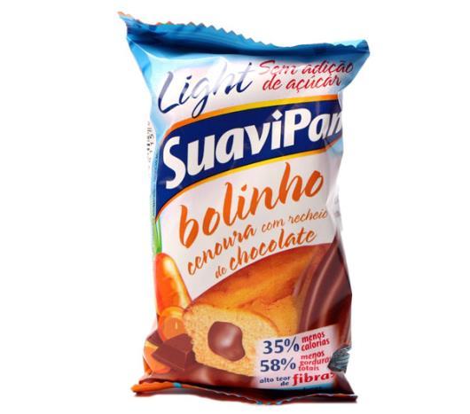 Bolinho Suavipan light cenoura com chocolate 40g - Imagem em destaque