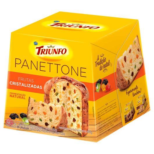 Panettone Triunfo Frutas 400g - Imagem em destaque