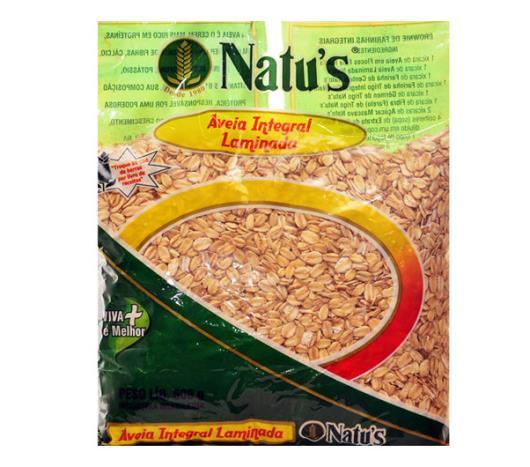 Aveia integral Natu's laminada 500g - Imagem em destaque
