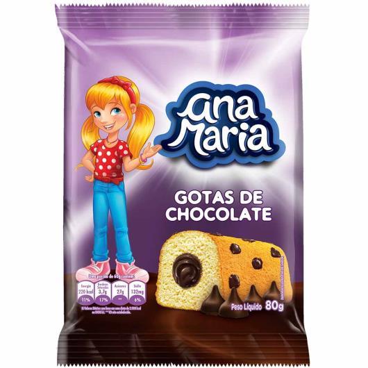 Ana Maria Pullman gotas de chocolate 80g - Imagem em destaque