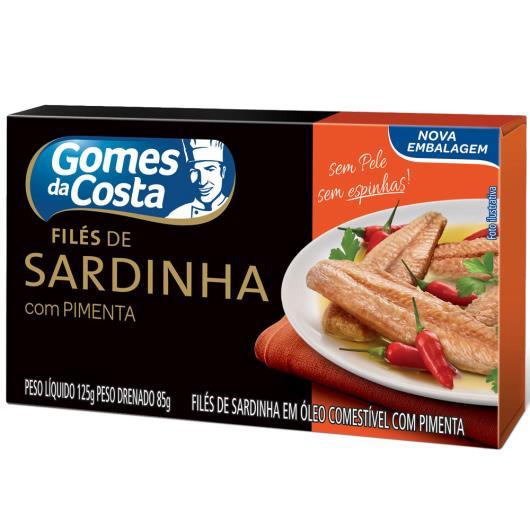 Filé de sardinha Gomes da Costa com pimenta 125g - Imagem em destaque
