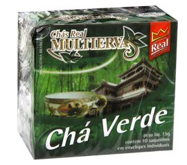 Chá Real multiervas verde 15g