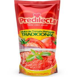 Molho de tomate Predilecta refil sachê 340g