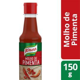 Molho de pimenta Knorr brasileiro 150ml