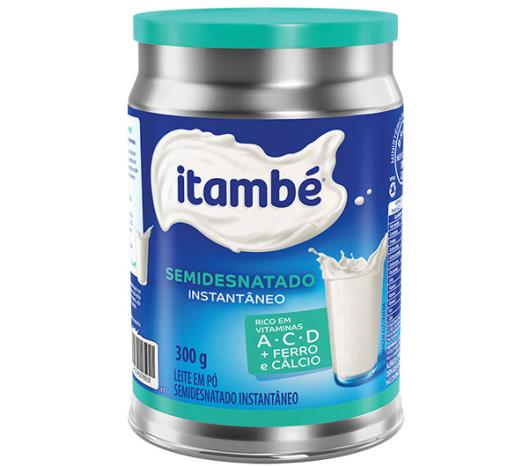 Leite em pó semidesnatado Itambé lata 300 g - Imagem em destaque