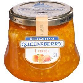 Geleia Queensberry sabor laranja classic 320g