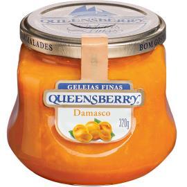 Geleia Queensberry sabor damasco classic 320g
