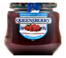 Geléia Queensberry sabor framboesa diet 280g