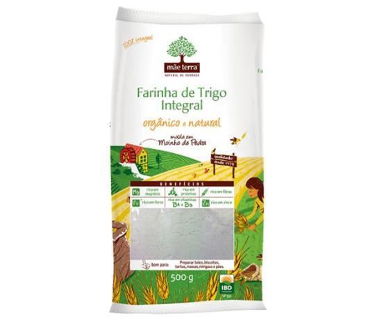 Farinha de trigo MãeTerra integral orgânico 500g - Imagem em destaque