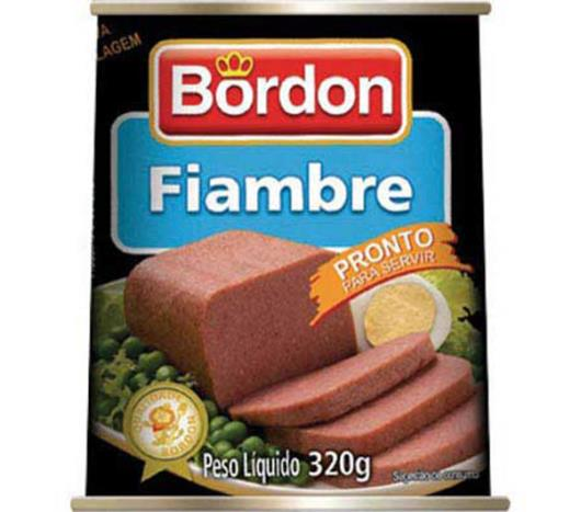 Fiambre Bordon carne bovina 320g - Imagem em destaque