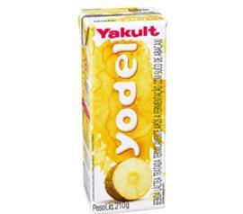 Bebida láctea de abacaxi Yodel 210g
