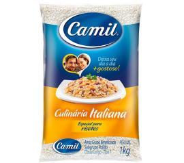 Arroz Camil culinária italiana 1kg