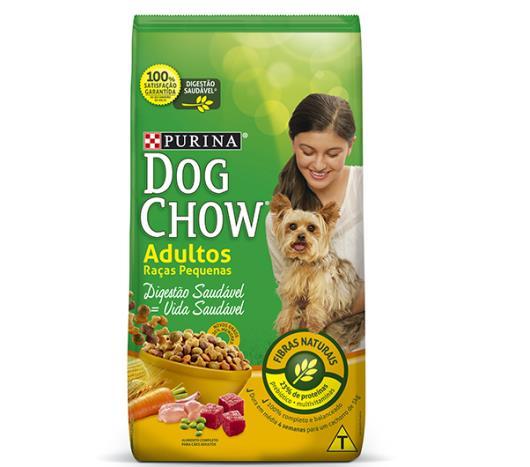 Ração para cães Dog Chow adulto raças pequenas 3kg - Imagem em destaque