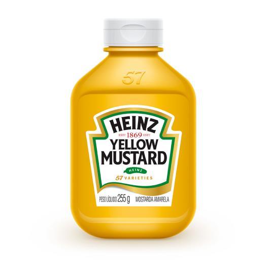 Mostarda Heinz Tradicional 255g - Imagem em destaque