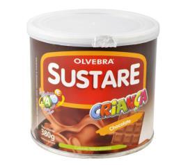 Sustare chocolate criança Olvebra 380g
