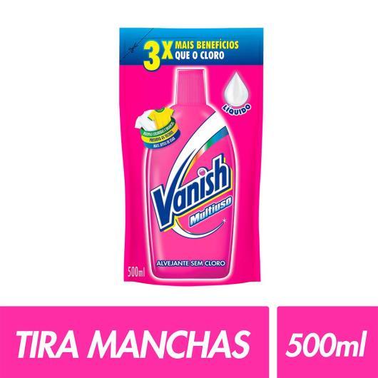 Alvejante líquido sem cloro embalagem econômica Vanish 500ml  - Imagem em destaque